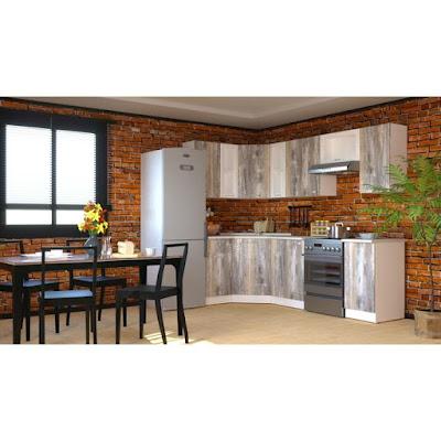 Кухонный гарнитур Арина оптима, 1300 х 2500 мм