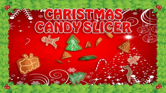 Vánoční cukroví slicer - náhled
