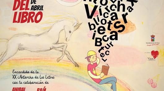 Vícar celebra la Antorcha de las Letras más especial y solidaria de su historia