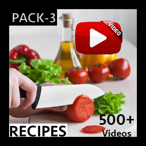 全球食譜視頻HD Pack 3的 媒體與影片 App LOGO-硬是要APP