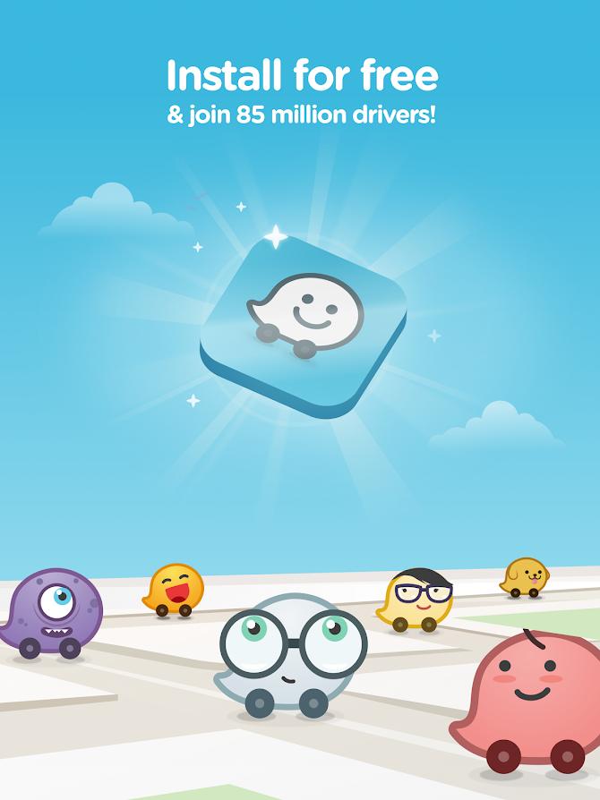 Waze - GPS, Maps, Traffic Alerts & Live Navigation Android 10