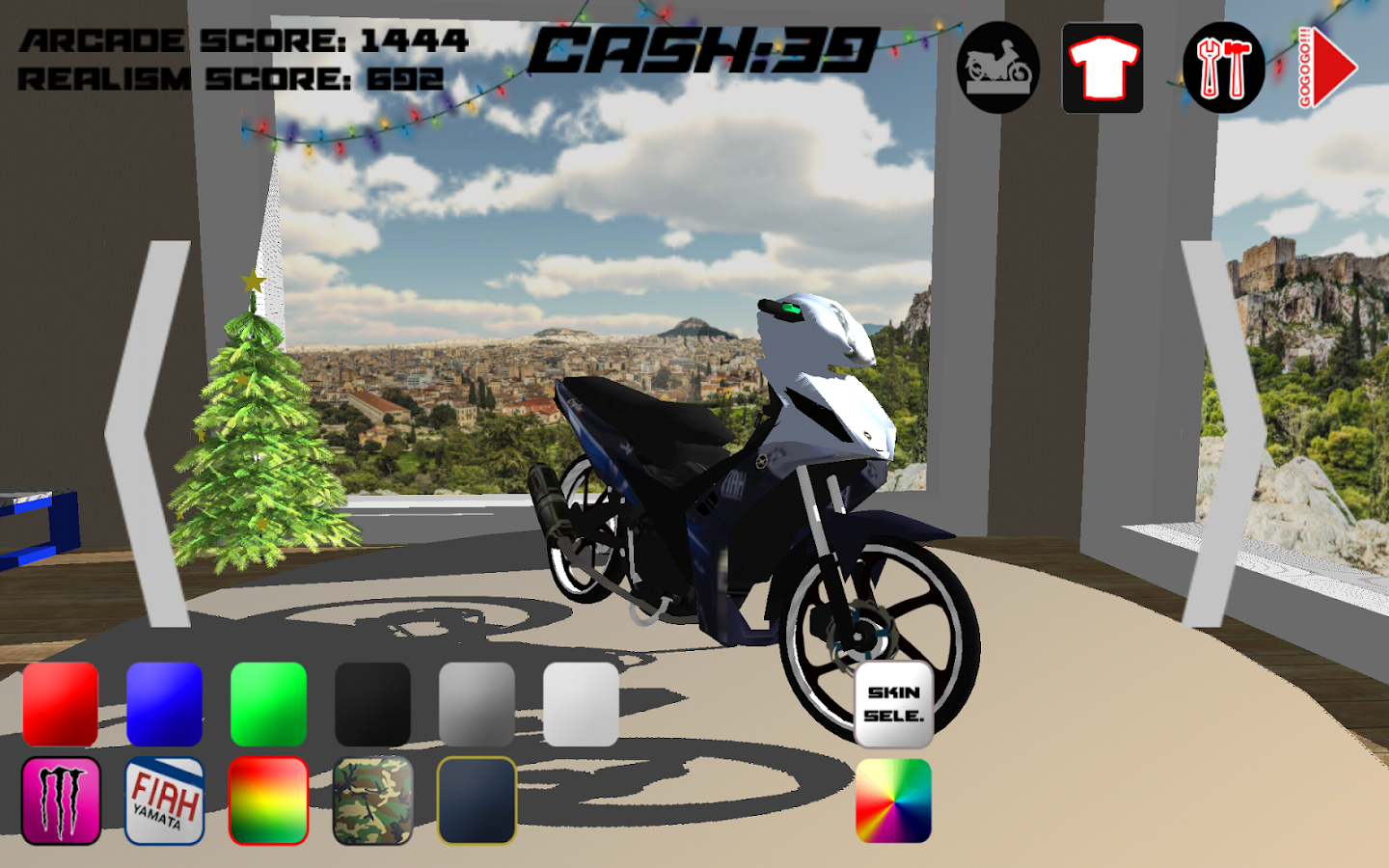 SouzaSim - Moped Edition- screenshot