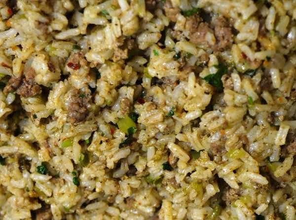 New Orleans Cajun Dirty Rice
