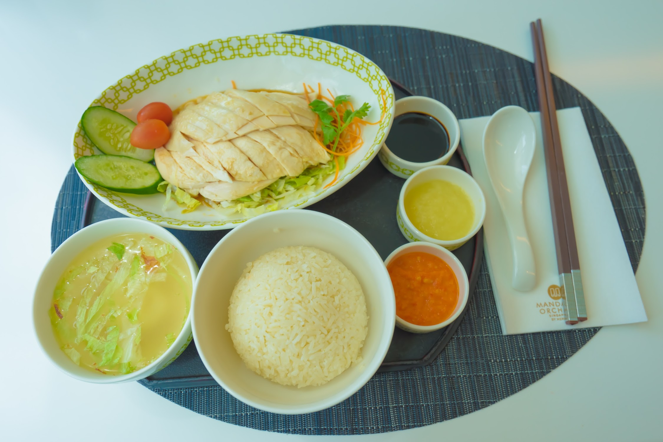 Singapore Chatterbox Chicken rice2