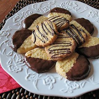Toasted Coconut Orange Icebox Cookies