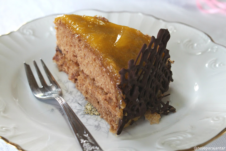 Orange and Chocolate Cake Recipe