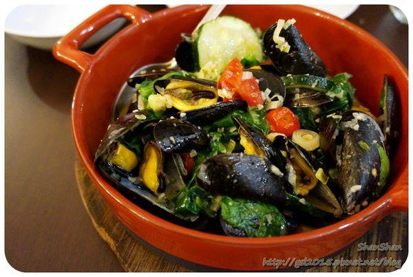 中山站。餐酒。「POPINA」- 用心好食材烹煮出的佳餚!坐飛機來的法國AOP認證淡菜鍋