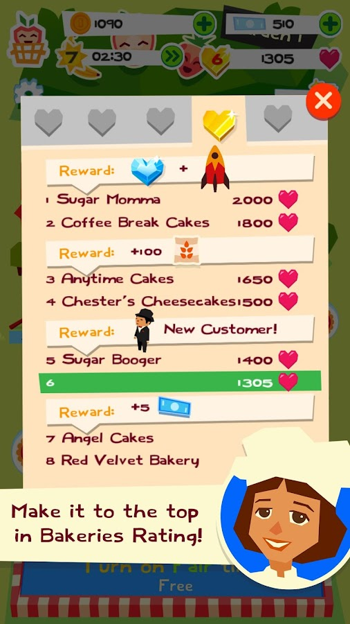 Bake it!- screenshot