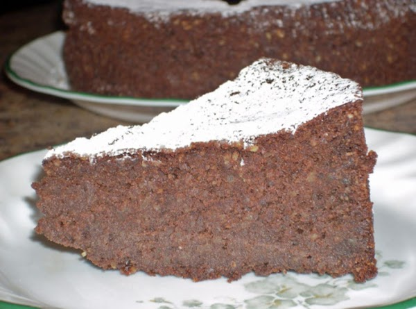 Almond Flour Chocolate Cake (gluten Free) Recipe