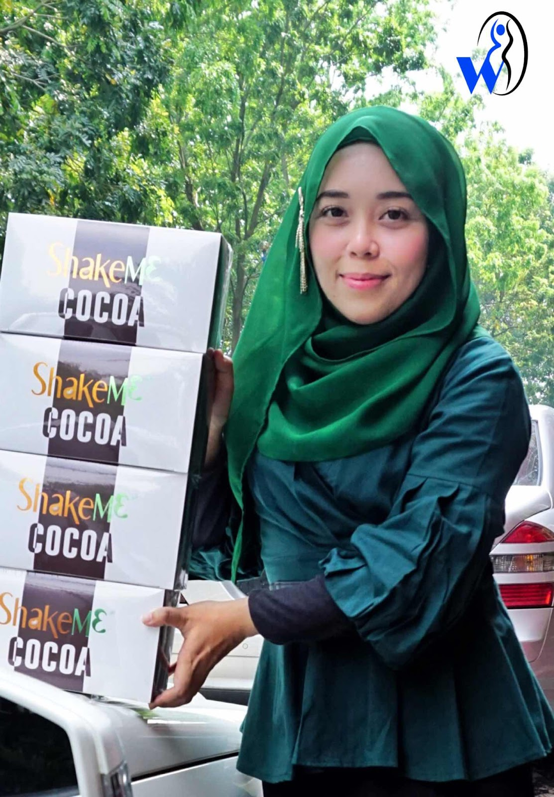 shake me cocoa-premium beautiful murah