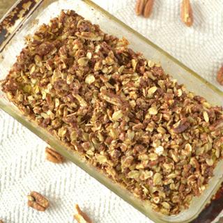 Sweet Potato Pecan Struesel Oatmeal Bread
