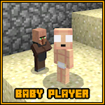 Baby Player MCPE Mod Addon Icon