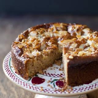 Swedish Apple and Almond Cake.
