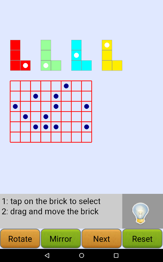L-shape Puzzle- screenshot
