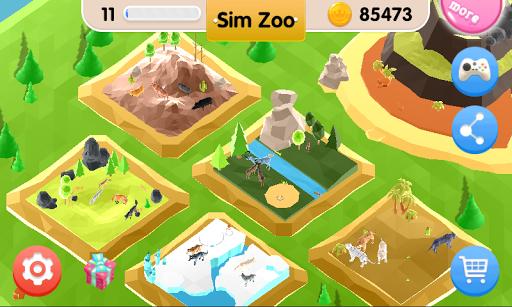 Sim Zoo - Wonder Animal  screenshots 2