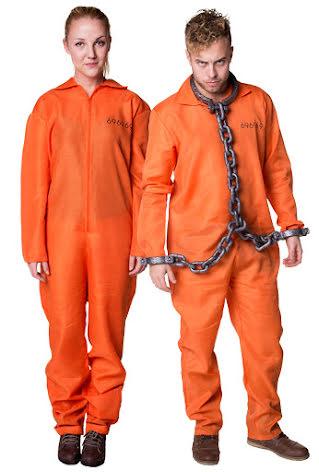 Fångdräkt orange