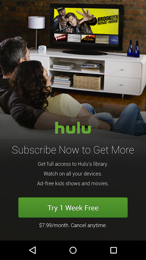 Hulu- screenshot