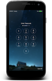 iLocker:Finger Lockscreen OS10 with notification - náhled
