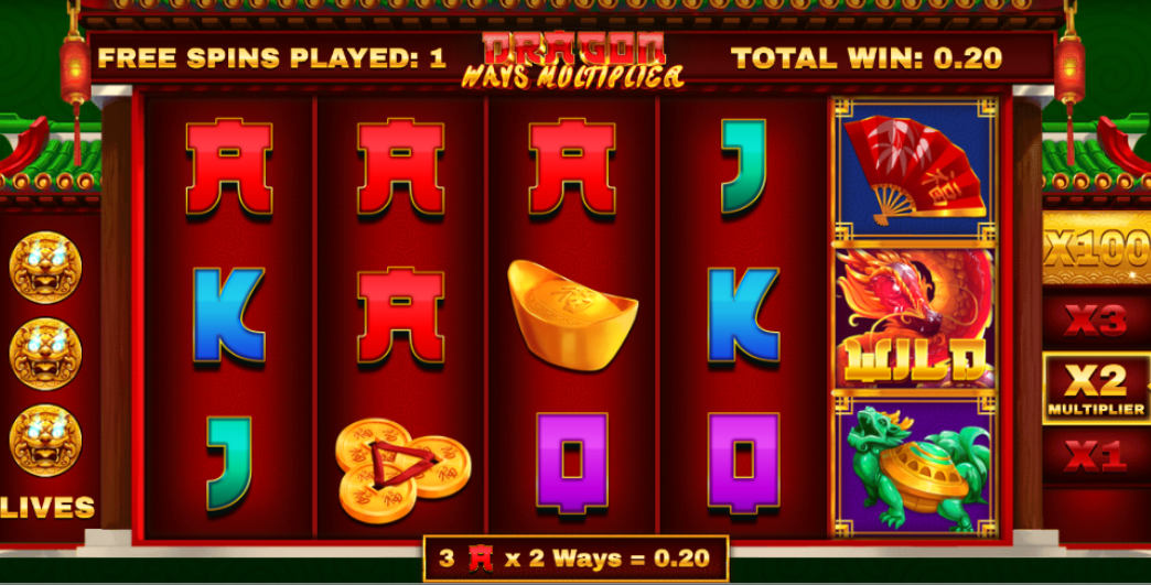 Dragon Ways Multiplier slot