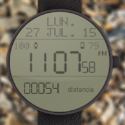 LCD Watchface with Steps