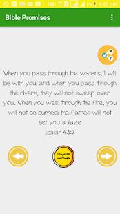 Bible Promises for PC-Windows 7,8,10 and Mac apk screenshot 2
