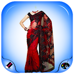 Women Fancy Saree Photo Shoot Icon