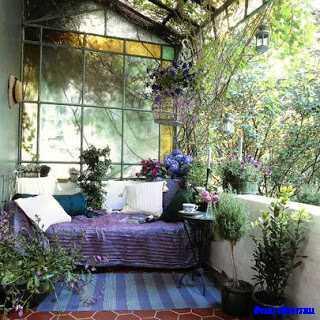겨울 정원 홈 디자인