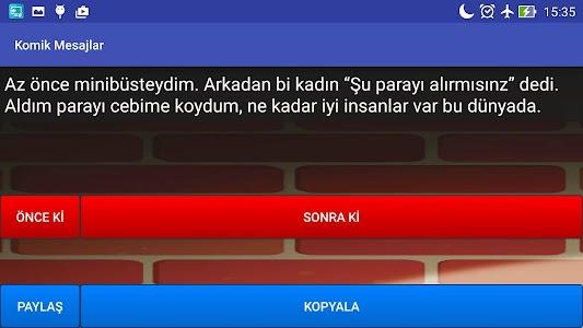 Komik Mesajlar screenshot 7