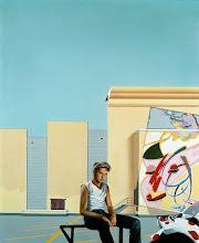 """Photo: """"Parking"""", 1974, acrylique sur toile"""
