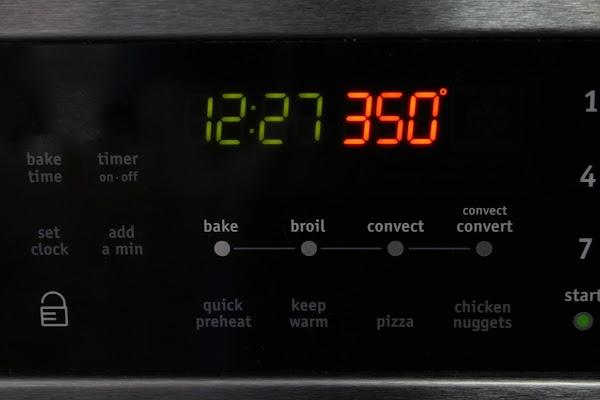 Preheat oven to 350.