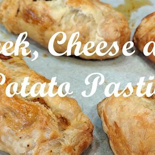 Leek, Cheese, and Potato Pasties.