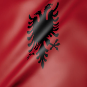 Albania Flag Live Wallpaper