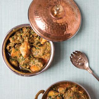 Aloo aur Gosht ka Kaliya (Hyderabadi-Style Lamb with Potatoes)