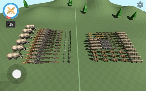 Animal Epic Battle Simulator MOD (Unlock All Levels) 2