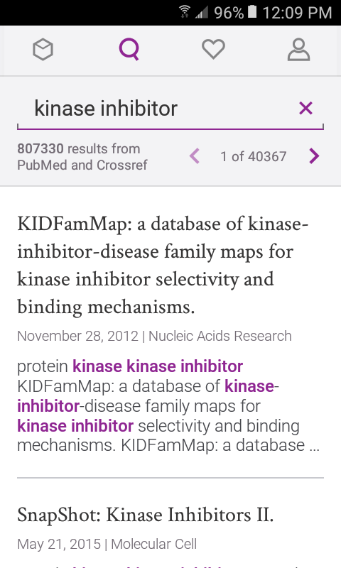 Case - Medical Research, Journals & Pubmed- screenshot