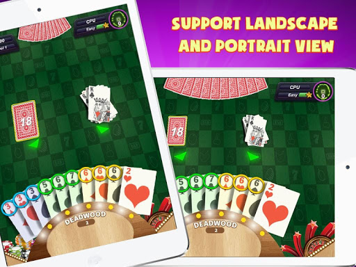 Gin Rummy Extra - GinRummy Plus Classic Card Games 1.1 gameplay | by HackJr.Pw 7