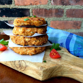 Acorn Squash Fritters with Spinach, Sun-Dried Tomatoes and Mozzarella Recipe