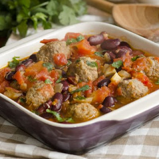 Hearty Meatball Casserole