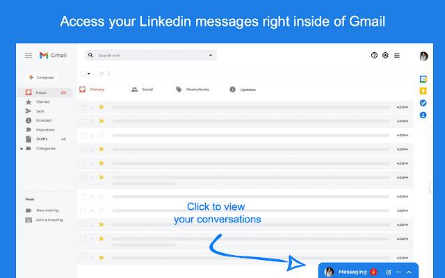 LinkedIn messenger for Gmail™ - Linbox
