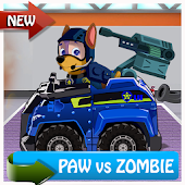 Paw Road Patrol Zombies