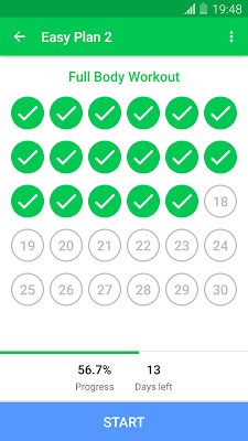 30 Day Fitness Challenge - Workout at Home - screenshot