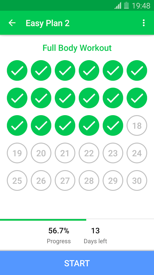 30 Day Fitness Challenge - Workout at Home- screenshot