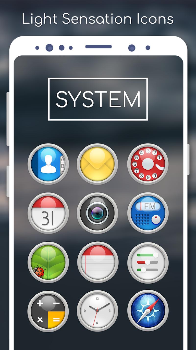 Light Sensation Icon Pack Screenshot 1