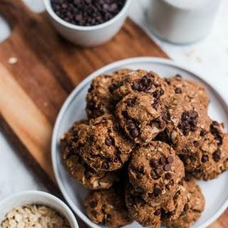 Vegan Almond Butter Coconut Cookies.