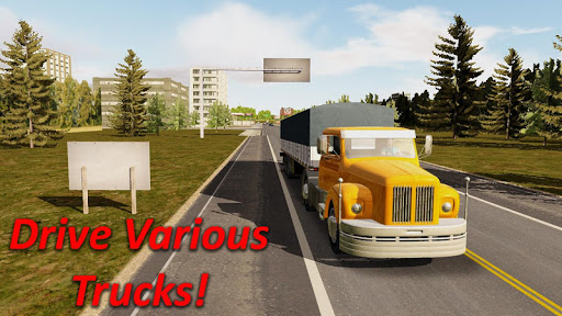 Heavy Truck Simulator game (apk) free download for Android/PC/Windows screenshot
