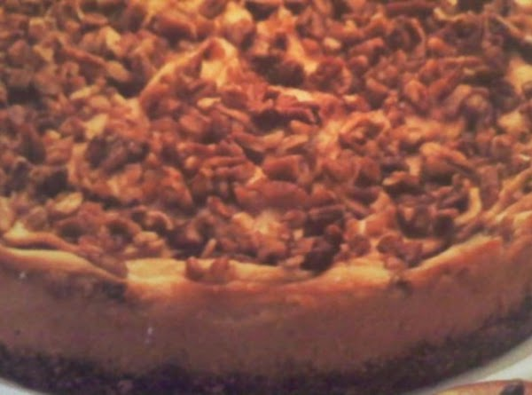 Cinnamon Apple Pecan Cheesecake Recipe