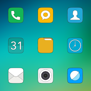 MIUI CARBON - ICON PACK Screenshot