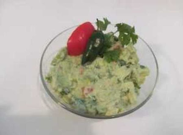 You can easily add a scoop of http://www.justapinch.com/recipes/main-course/mexican/guacamole.html instead of sliced avocado.