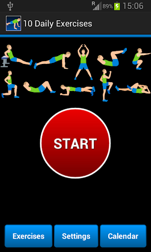 10 Daily Exercises  screenshots 1