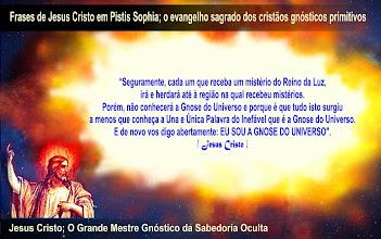 Foto: Jesus Cristo em Pistis Sophia, o evangelho sagrado dos cristãos gnósticos primitivos. .